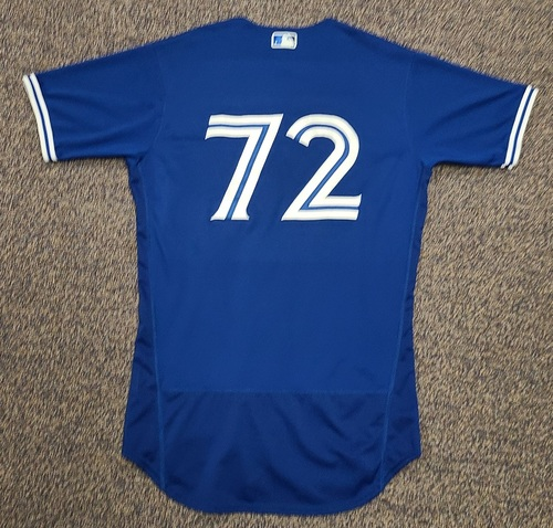 Photo of Authenticated Team Issued 2020 Spring Training Jersey: #72 Santiago Espinal. Size 42