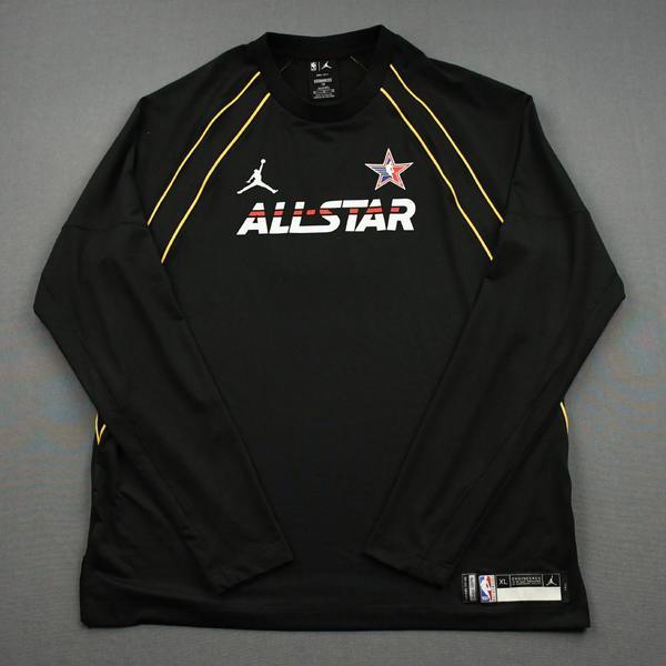 Image of JaysonTatum - Game-Worn 2021 NBA All-Star Long-Sleeved Shooting Shirt