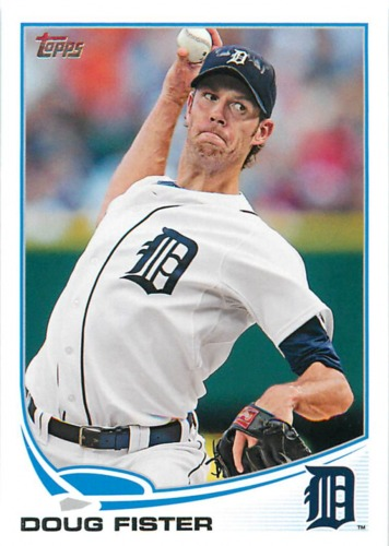 Photo of 2013 Topps #258 Doug Fister