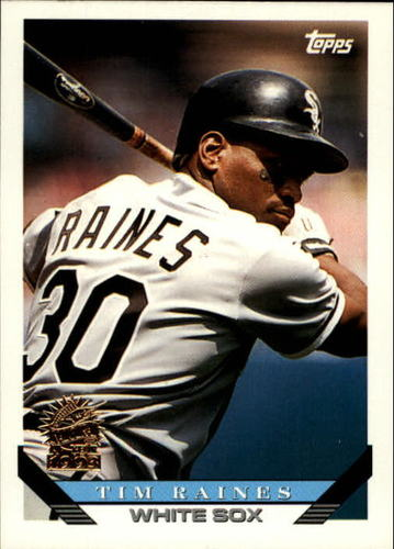 Photo of 1993 Topps Inaugural Marlins #675 Tim Raines