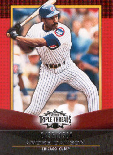 Photo of 2011 Topps Triple Threads #68 Andre Dawson
