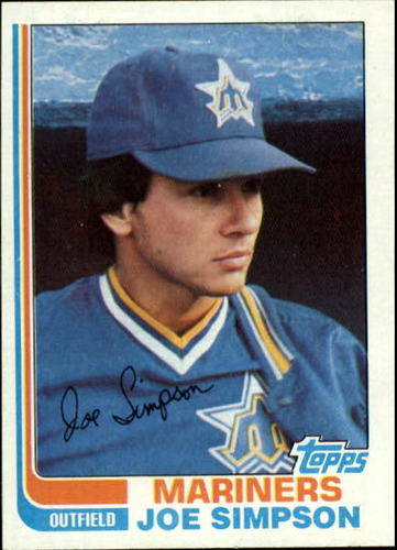 Photo of 1982 Topps #382 Joe Simpson