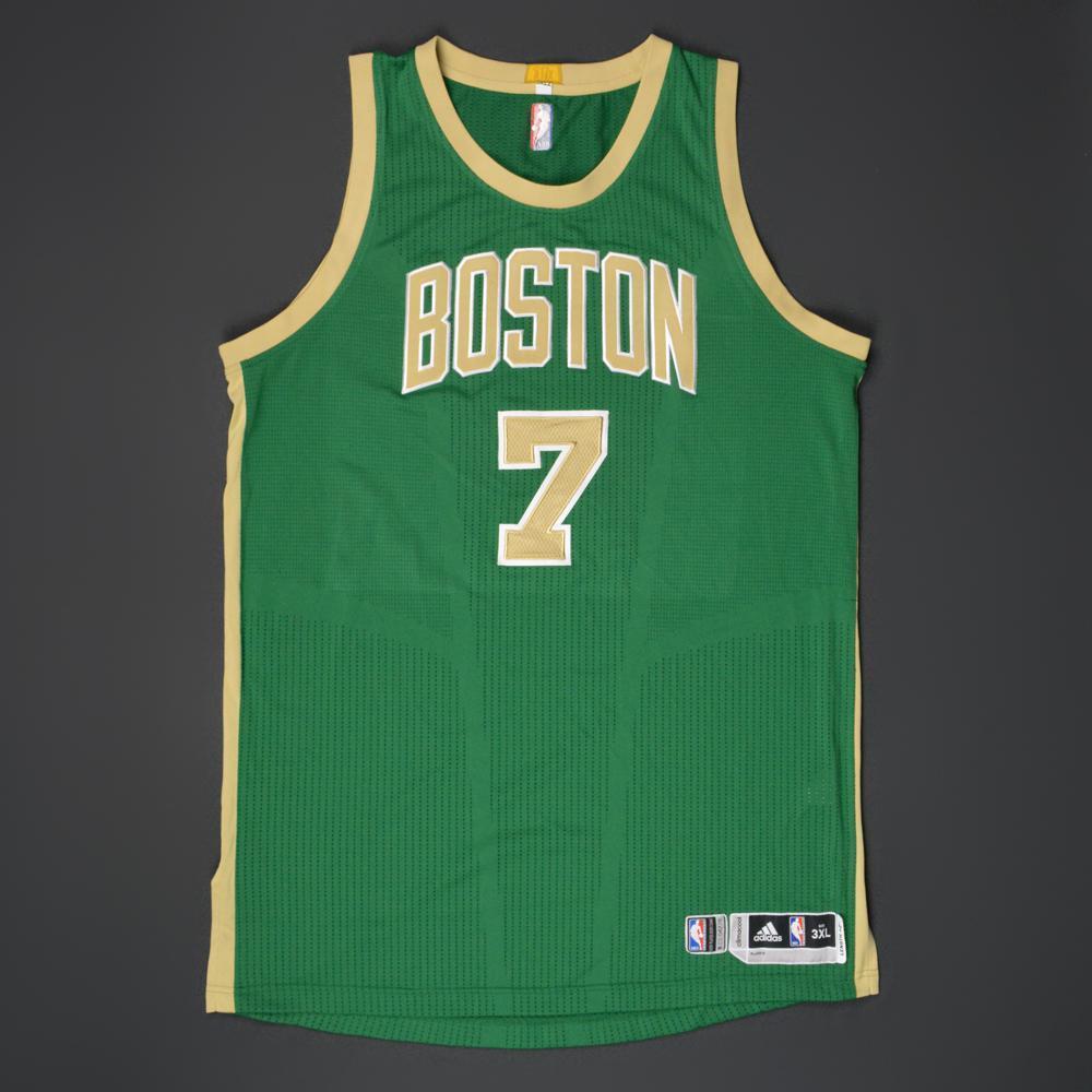 Jared Sullinger - Boston Celtics - Game-Worn 'St. Patrick's Day ...