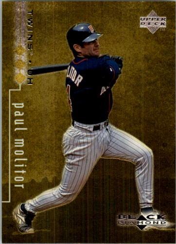 Photo of 1999 Black Diamond Triple #48 Paul Molitor