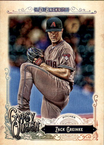 Photo of 2017 Topps Gypsy Queen #20 Zack Greinke