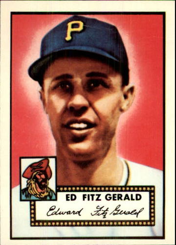 Photo of 1983 Topps 1952 Reprint #236 Ed Fitzgerald
