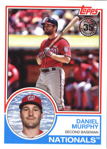 Photo of 2018 Topps '83 Topps #8366 Daniel Murphy