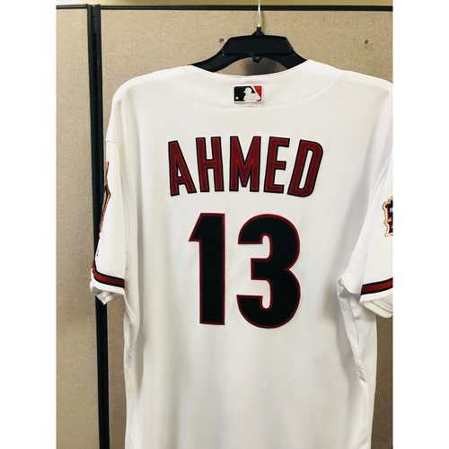 Photo of 2018 Game-Used Throwback Nick Ahmed Jersey