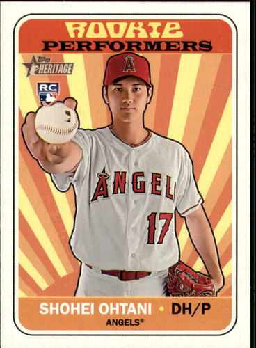 Photo of 2018 Topps Heritage Rookie Performers #RPSO Shohei Ohtani