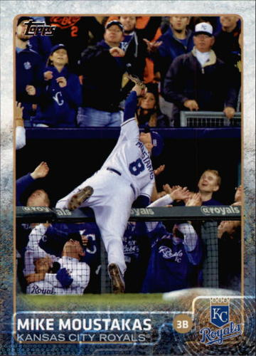 Photo of 2015 Topps #461A Mike Moustakas