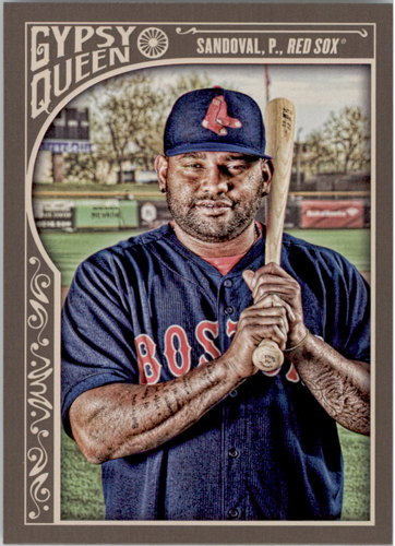Photo of 2015 Topps Gypsy Queen #191 Pablo Sandoval