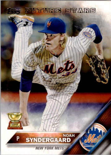 Photo of 2016 Topps #43 Noah Syndergaard FS