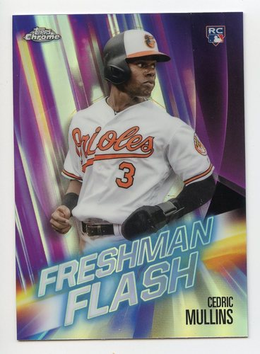 Photo of 2019 Topps Chrome Freshman Flash #FF6 Cedric Mullins