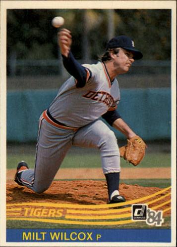 Photo of 1984 Donruss #471 Milt Wilcox
