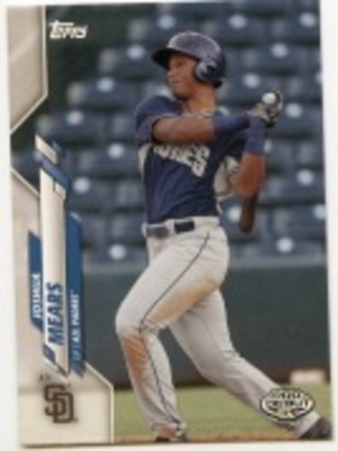 Photo of 2020 Topps Pro Debut #PD139 Joshua Mears