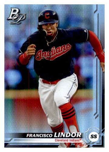 Photo of 2019 Bowman Platinum #44 Francisco Lindor