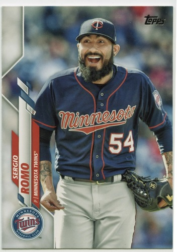 Photo of 2020 Topps #576 Sergio Romo