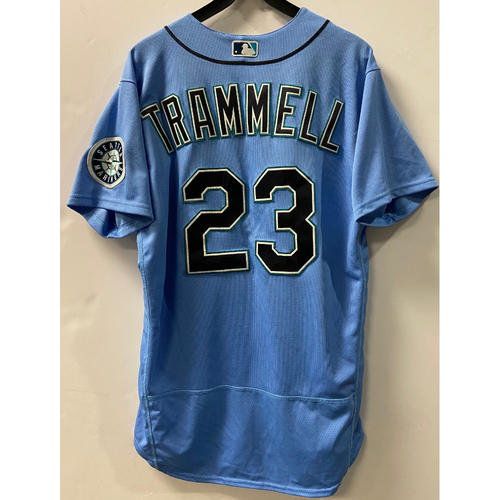Photo of Team Issued 2020 Jersey - Taylor Trammell #23 Light Blue Jersey