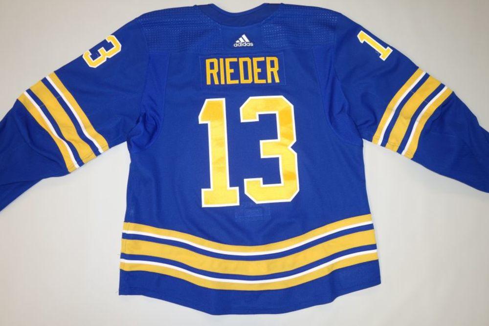 Tobias Rieder 2020-21 Buffalo Sabres Set 1 Home Jersey