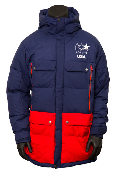 Photo of Official U.S. Freeskiing Men's North Face Down Parka (Size Large)