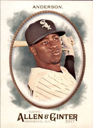 Photo of 2017 Topps Allen and Ginter #218 Tim Anderson