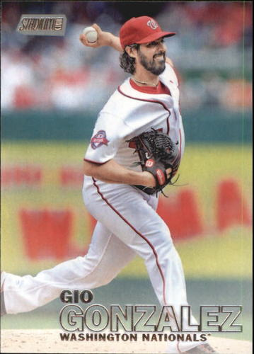 Photo of 2016 Stadium Club #140 Gio Gonzalez -- Nationals post-season