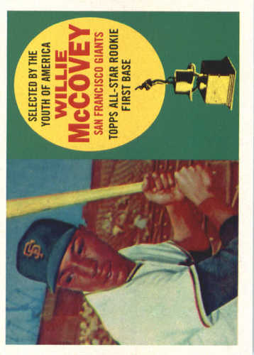 Photo of 2017 Topps Update All Rookie Cup #ARC9 Willie McCovey -- REPRINT