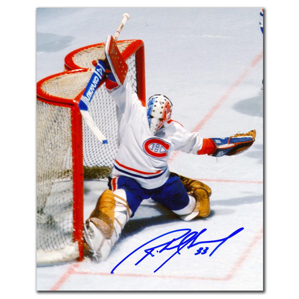 Richard Sevigny Montreal Canadiens BIG SAVE Autographed 8x10