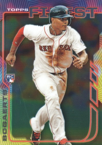 Photo of 2014 Finest #89 Xander Bogaerts  Rookie Card