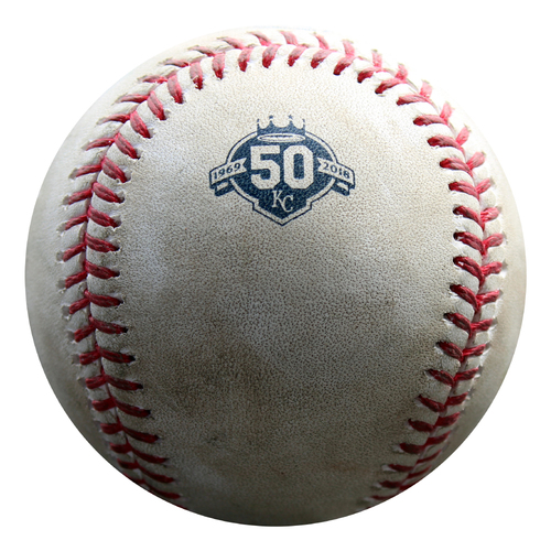 Photo of 2018 Royals 50th Season Mystery Baseball