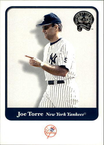 Photo of 2001 Greats of the Game #60 Joe Torre -- Hall of Fame Class of 2014