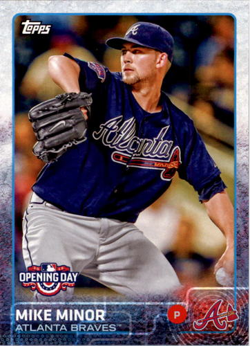 Photo of 2015 Topps Opening Day #167 Mike Minor