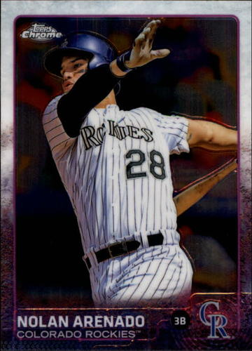 Photo of 2015 Topps Chrome #66 Nolan Arenado