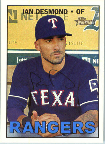 Photo of 2016 Topps Heritage #624 Ian Desmond