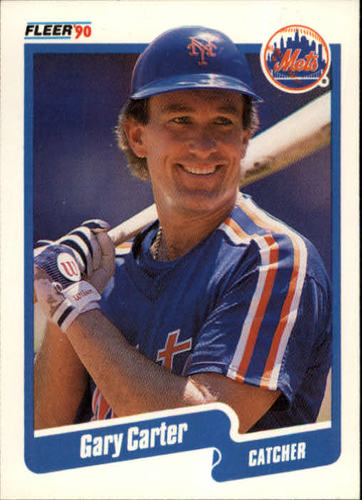 Photo of 1990 Fleer #199 Gary Carter
