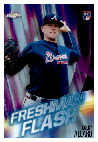 Photo of 2019 Topps Chrome Freshman Flash #FF10 Kolby Allard