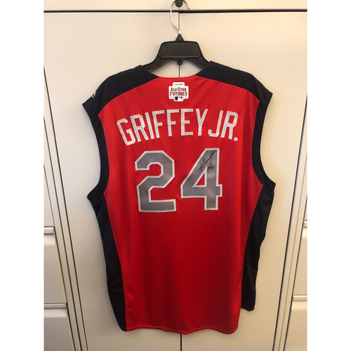 Photo of Compton Youth Academy Auction: Ken Griffey Jr. Autographed American League All -Star Futures Game Jersey
