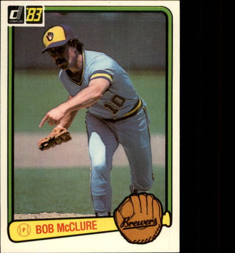Photo of 1983 Donruss #582 Bob McClure