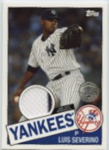Photo of 2020 Topps '85 Topps Relics #85TRLS Luis Severino