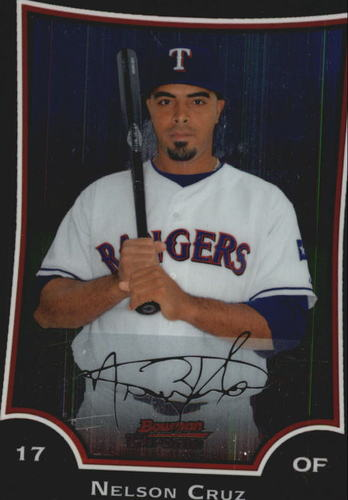 Photo of 2009 Bowman Chrome #111 Nelson Cruz