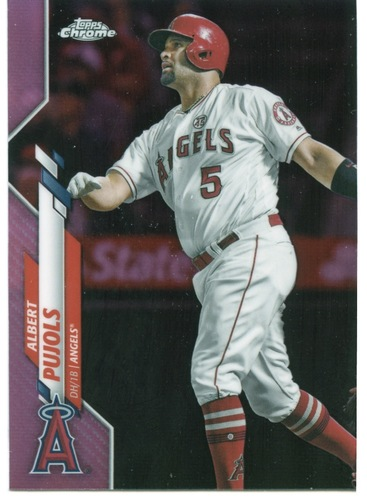 Photo of 2020 Topps Chrome Pink Refractors #127 Albert Pujols