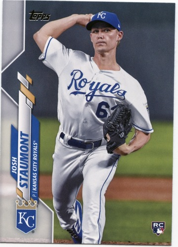 Photo of 2020 Topps #583 Josh Staumont RC