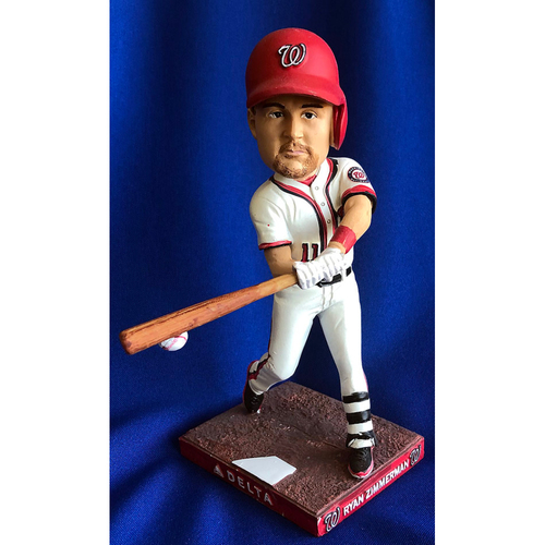"""Photo of UMPS CARE AUCTION: Ryan Zimmerman """"The Ryanaissance"""" Nationals Bobblehead"""