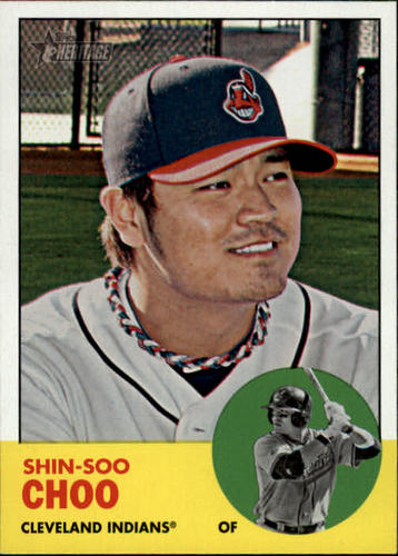 Photo of 2012 Topps Heritage #219 Shin-Soo Choo