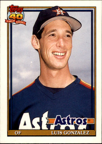 Photo of 1991 Topps Traded #48T Luis Gonzalez RC