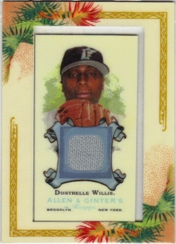 Photo of 2006 Topps Allen and Ginter Relics #DWI Dontrelle Willis Jsy I