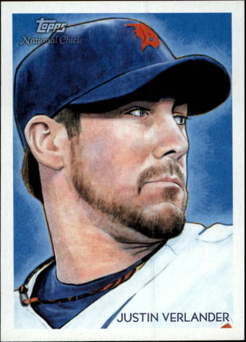Photo of 2010 Topps National Chicle #85 Justin Verlander