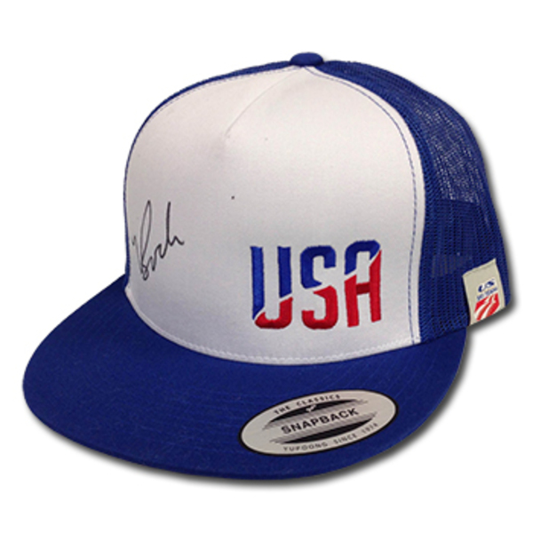 Photo of U.S. Ski Team Big Truck Ball Cap Signed by Bode Miller (1 of 2)