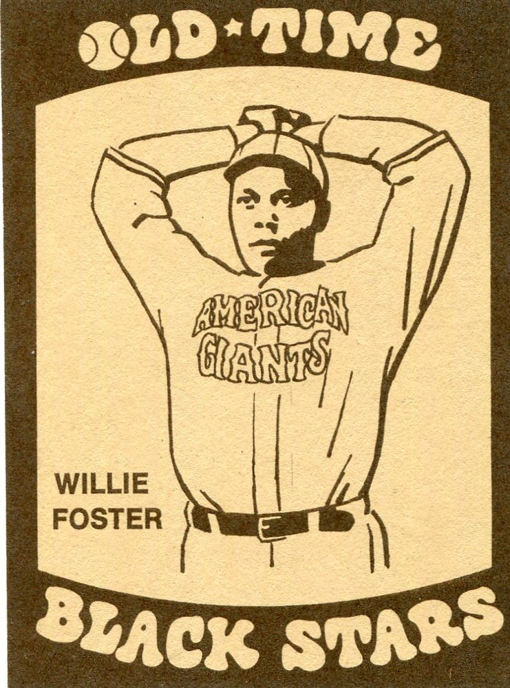 1974 Laughlin Old Time Black Stars #5 Willie Foster