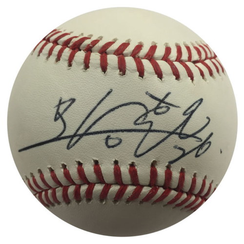 Cardinals Authentics: Seung-hwan Oh Autographed Baseball